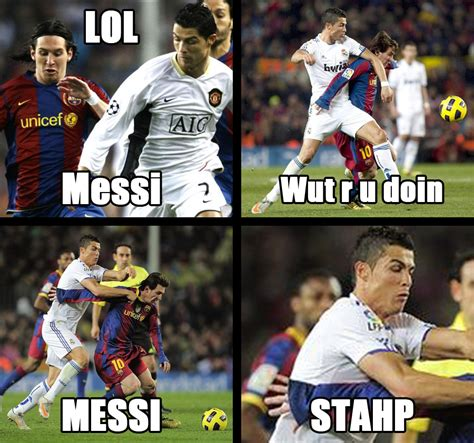 Messi Memes - messi stahp stahp know your meme