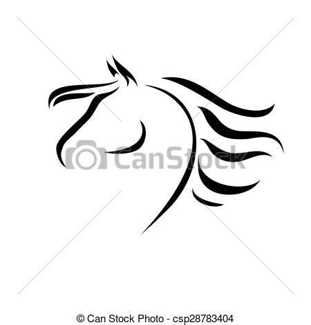 cavallo clipart disegni di cavalli jf78 pineglen