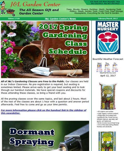 Garden Center Marketing by Garden Center Newsletter Marketing Garden Center Marketing