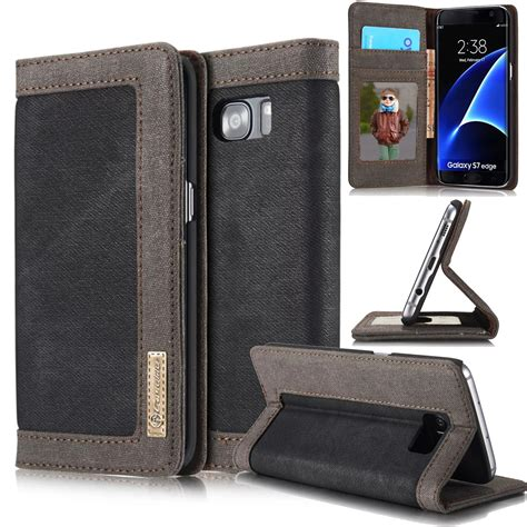 Back Cover Wallet Samsung Galaxy S8 Plus magnetic leather card slots wallet cover for samsung