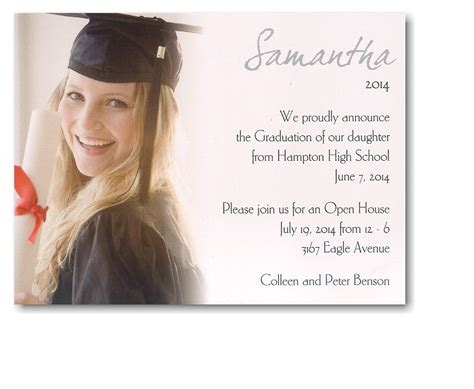 Graduation Announcement Template Card by 28 E Card Template Designs For Graduation