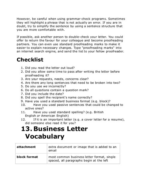 Official Letter Closing Sentence Business Letters In