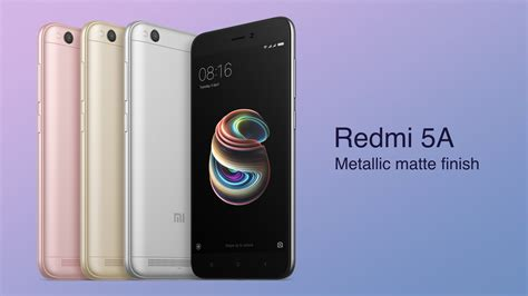 Xiaomi Redmi 5a New xiaomi redmi 5a launched in india pricing starts at rs 4 999