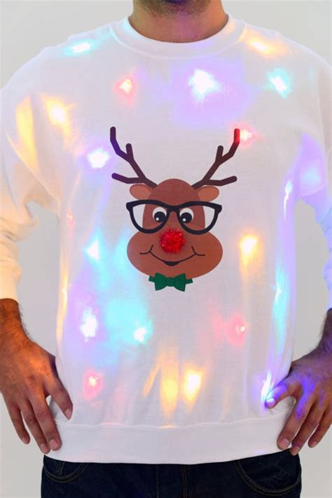 Is This The World S Ugliest Christmas Jumper Mirror Online Jumpers With Lights Uk