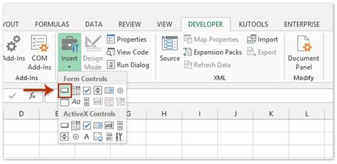 format control buttons excel 2007 how to insert a macro button to run macro in excel