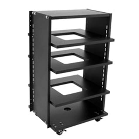 Rolling Equipment Rack by Holovision Roll 26s Rolling Audio Equipment Racks