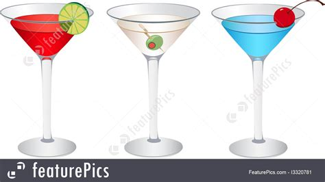 martini drink clip art illustration of cosmopolitan martini and betty blue