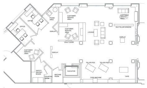 floor plan of bank image result for floor plan for bank bank design llvr