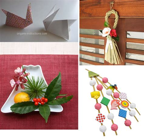 Origami New Year Decorations - celebrations a look at new year s in japan oh