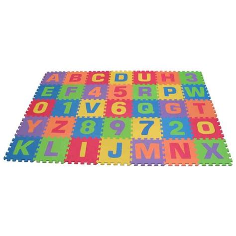 The Play Mat by Edushape Edu Tiles 36 6x6ft Pla