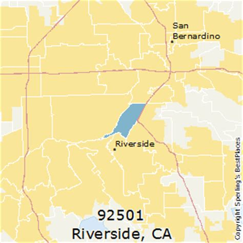 zip code map riverside county best places to live in riverside zip 92501 california
