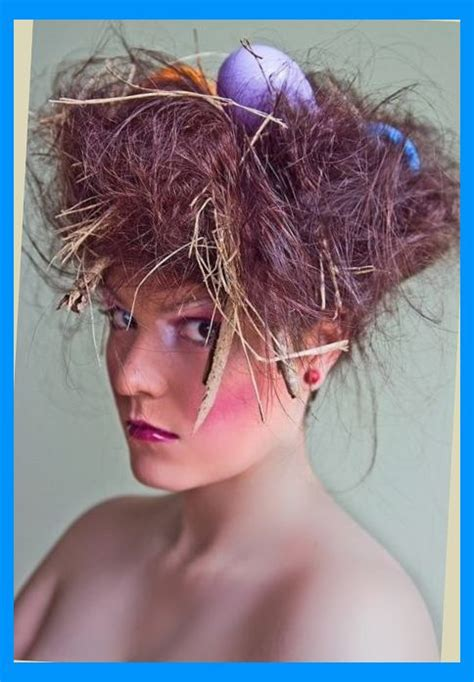 parrot hairstyle birds nest haircut haircuts models ideas