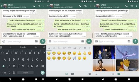Search For On Whatsapp Whatsapp Now Lets You Search For Gifs From Within Its Interface Android Central