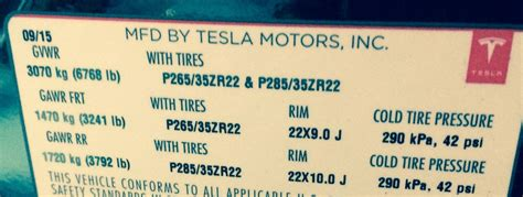 Tesla Curb Weight Tesla Model X Gvwr Is 6 768 Pounds Vehicles Qualifies