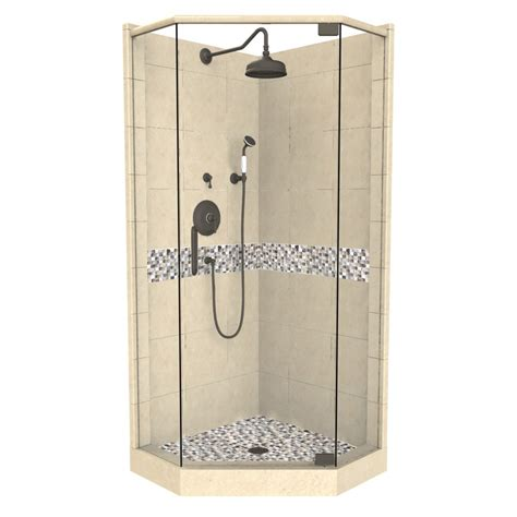 32 X 36 Shower Shop American Bath Factory Java Medium With Accent