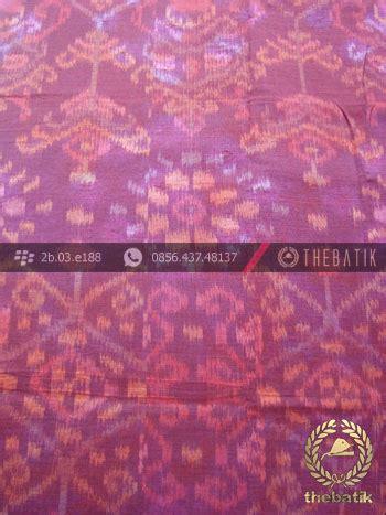 Batik Tenun Maroon jual kain bahan baju tenun ikat modern merah marun