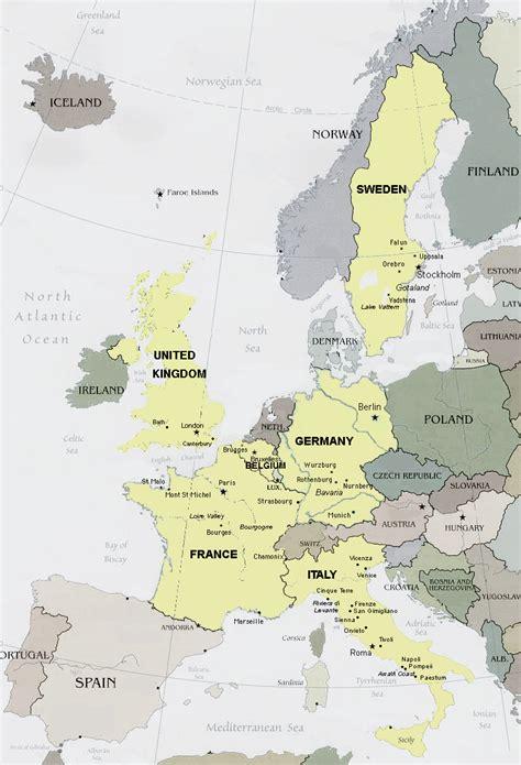 belgium map of europe europe map belgium