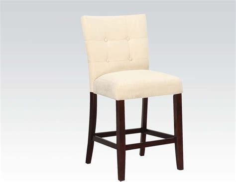 baldwin beige upholstered counter height chair
