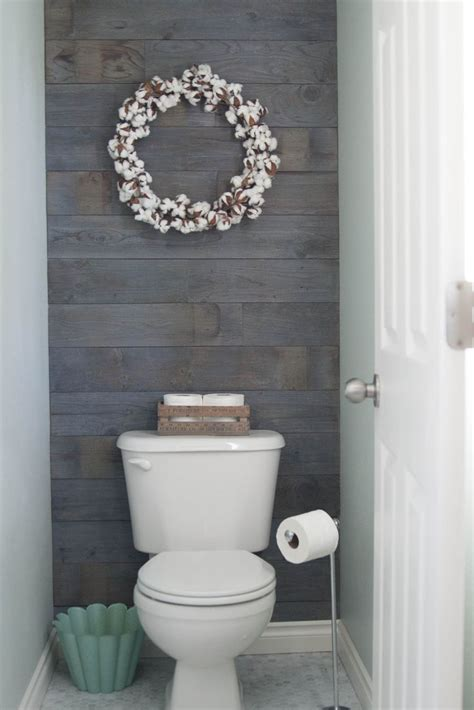 17 best ideas about bathroom accent wall on pinterest plank walls toilet room and half bath decor