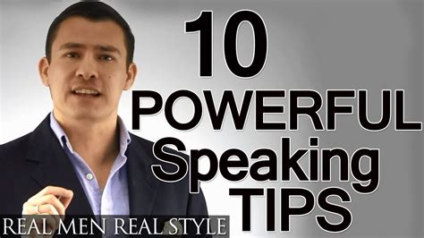10 Tips On How To Give A by 10 Speaking Tips Advanced Presentation Advice How To