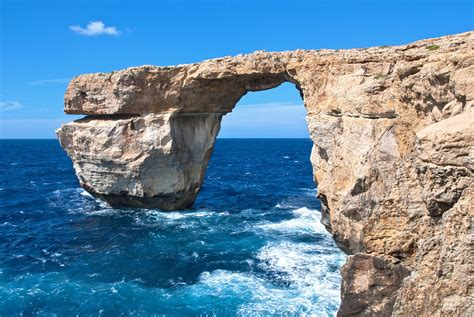 azure window fall malta s famous azure window rock arch collapses