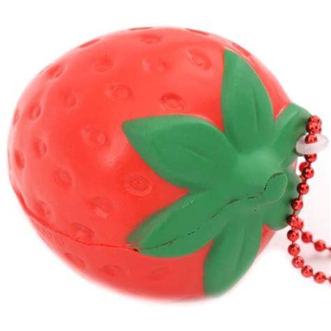 Squishy I Bloom Strawberry Replica kawaii strawberry fruit scented squishy charm by ibloom food squishies squishies shop modes4u