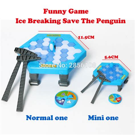 Breaking Save The Penguin breaking save the penguin great family knock block wall educational toys normal