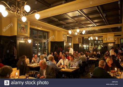 deutsches restaurant neumünster traditional german restaurant berlin germany stock photo