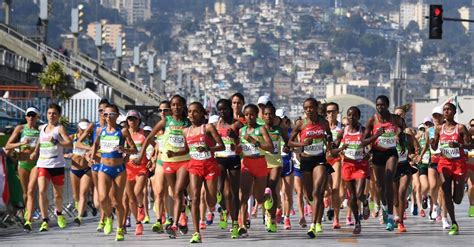 How From To Marathon by Sumgong Gives Kenya Its Women S Marathon Gold The New York Times