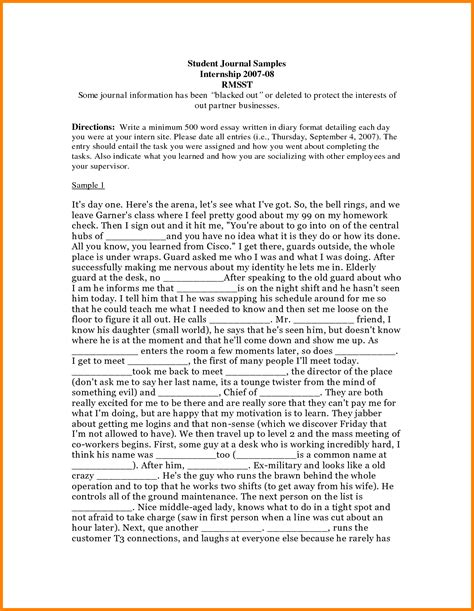Dom Research Letter Essay Diary 6 Journal Format Exle Ledger Paper Quiz Worksheet Features Of Non Fiction Essays