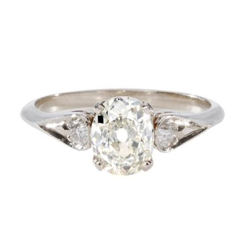 single s engagement rings feature antique