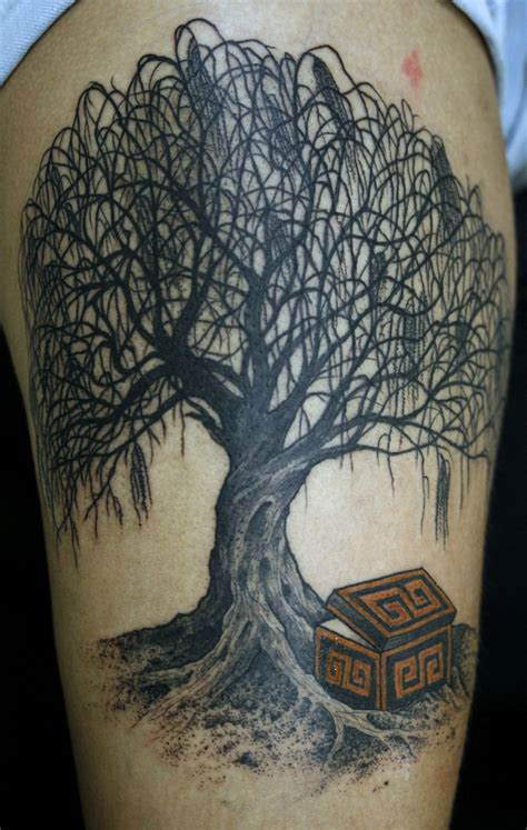 small willow tree tattoo 76 tree tattoos ideas to show your for nature