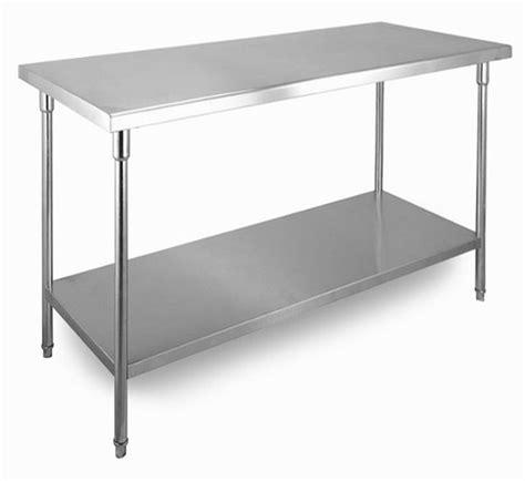 Meja Dapur Stainless Steel jual meja dapur restoran stainless steel 120cm x 70cm