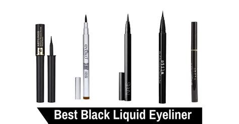 best black best black liquid eyeliner of 2017 make up by chelsea