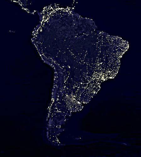 imagenes satelitales de la tierra de noche cielo sur notas anteriores el cielo perdido