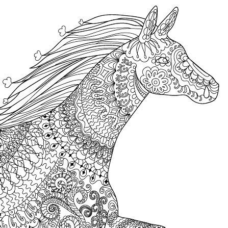 horses running  tumblr coloring pages coloring