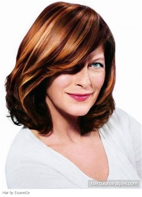 older women layered hairstyles medium layered haircut for older women