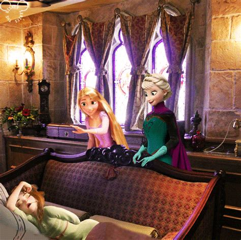 rapunzel kidnapped can frozen elsa anna save tangled gif mine tangled disney rapunzel cinderella castle anna