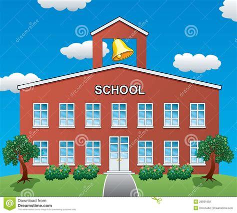 for school vector school house stock vector illustration of roof