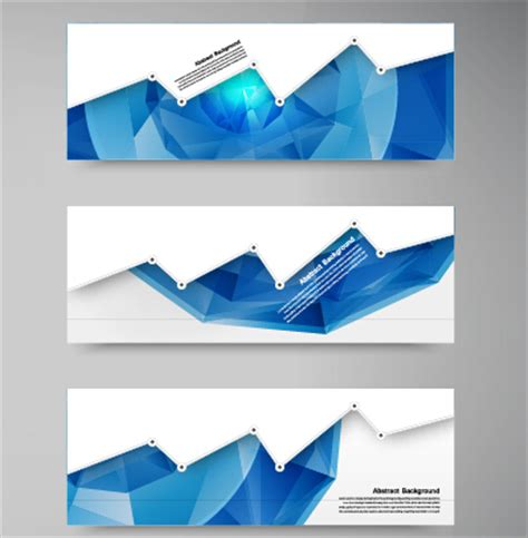 design banner vector cdr geometric shapes abstract banners graphic vector 01