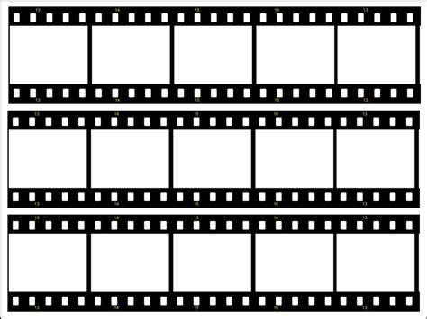 filmstrip template printable template enaction info