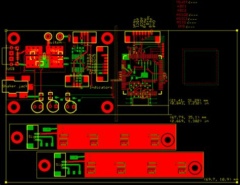 layout design of pcb edge