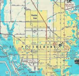 1961 map of st petersburg fl flickr photo