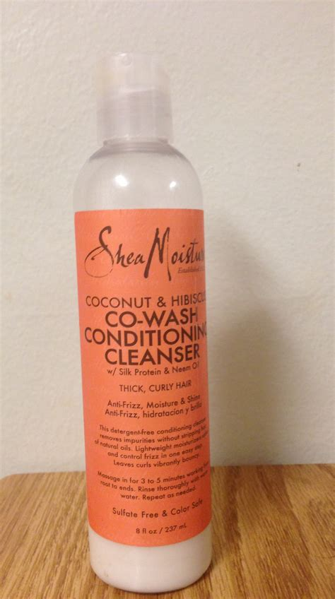 Shea Moisture Detox And Refresh Conditioner Review by Shea Moisture Coconut And Hibiscus Co Wash Conditioning
