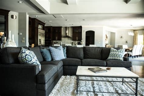 Transitional Style Living Room Furniture Luxe Furniture Design Masculine Luxury