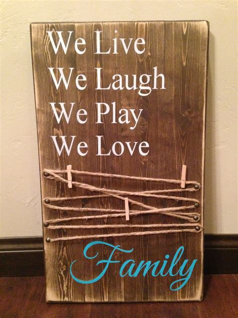 picture holder wood sign/ Mom Rustic Wood Sign/ Mother's