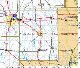 Eaton Ohio Map by Preble County Ohio Detailed Profile Houses Real Estate