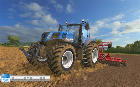 T 8 Ls by New T8 320 Tractor V 1 0 Bearbeiten