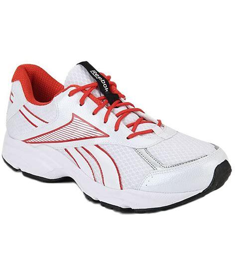 reebok sports white running shoes reebok white running sport shoes price in india buy
