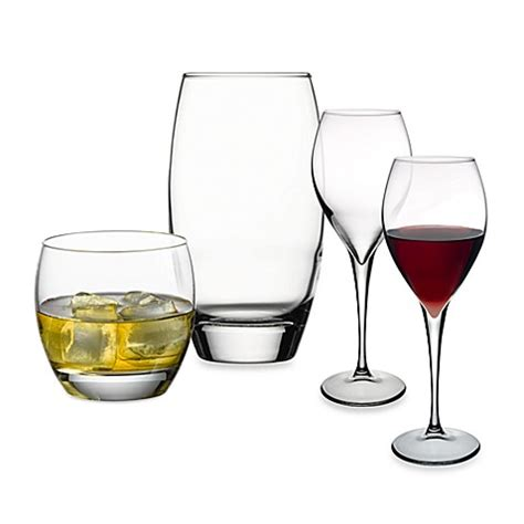 bed bath and beyond glassware pasabahce monte carlo glassware bed bath beyond